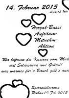 Einladungsplakat des 'Kulturverein' Riebau